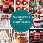 50 recetas de postres para San Valentín