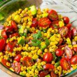 Ensalada de maíz fácil