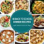 40 recetas de regreso a clases