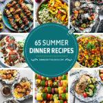 65 recetas para la cena de verano