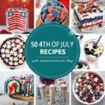 50 recetas para el 4 de julio