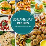 30 recetas para los días de partido