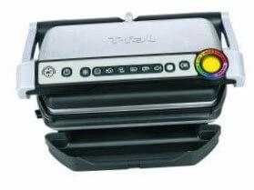 3 T-fal GC702 Parrilla eléctrica para interiores OptiGrill
