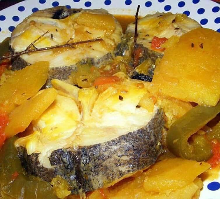 Cazuela de pescado Canaria