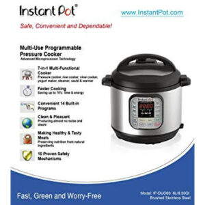 Instant Pot IP-DUO60 7-in-1 Multi-Functional Cooker