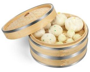 Cómo cocinar las albóndigas en una vaporera de bambú