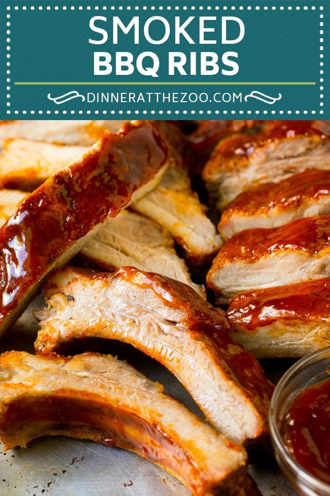 Receta de costillas ahumadas |  Costillas posteriores |  Costillas de cerdo # cerdo # costillas # fumador # cena #dinneratthezoo