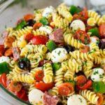 Ensalada de pasta italiana
