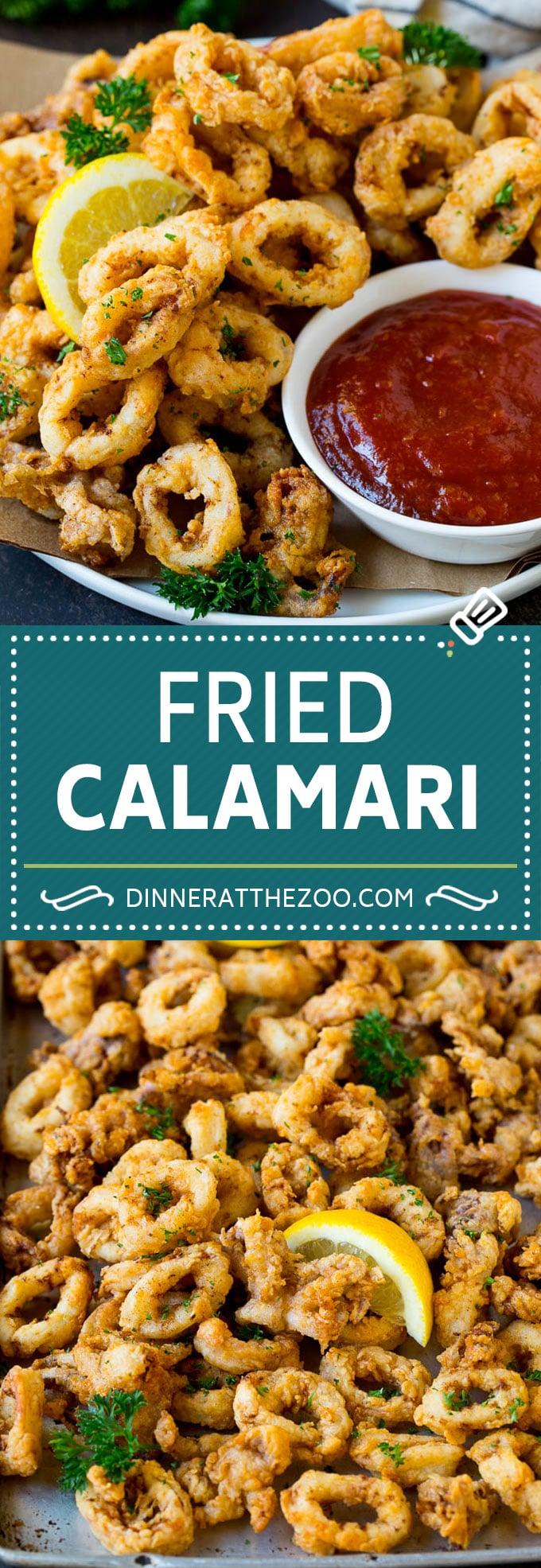Receta de calamar frito # mariscos # aperitivo # cena # cenaatthezoo