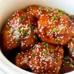 Muslos de pollo en olla de cocción lenta