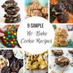 9 recetas de galletas sin hornear