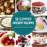 58 recetas de postres de verano