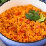 Receta de arroz mexicano