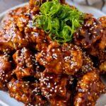 Pollo frito coreano