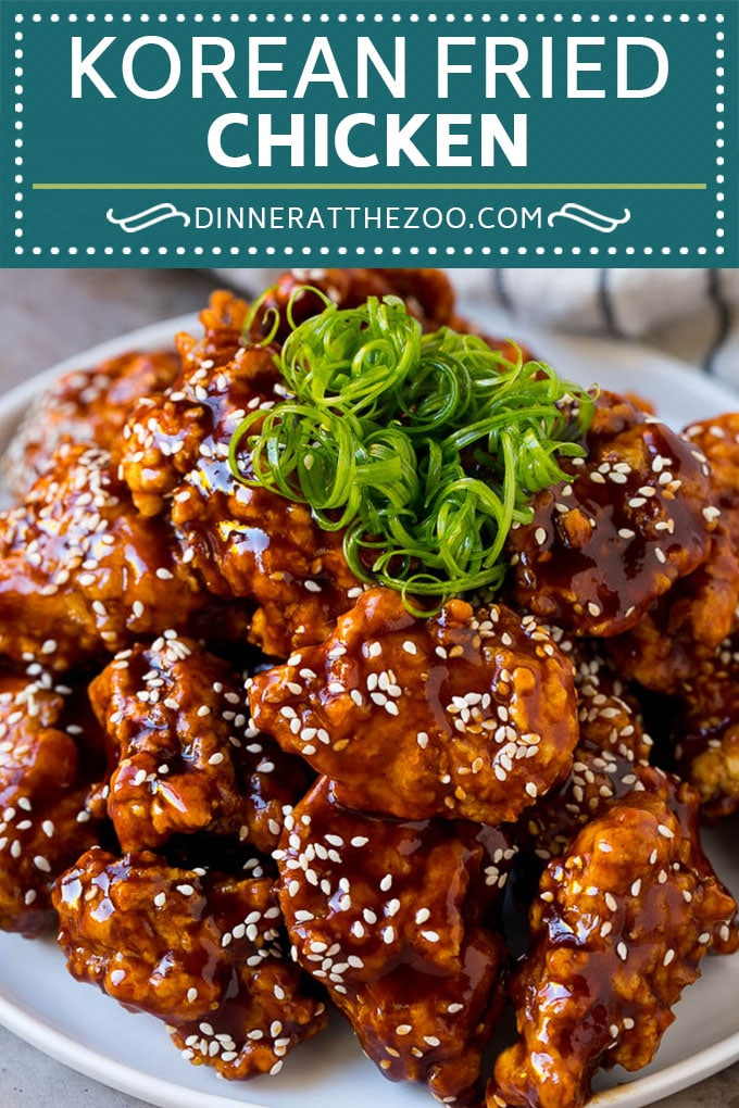Receta de pollo frito coreano    Pollo frito    Pollo coreano # pollo # pollo frito # aperitivo # cena # dinneratthezoo