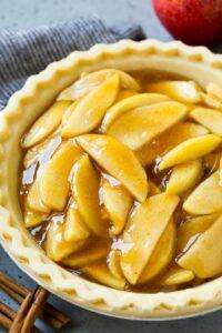 Relleno de tarta de manzana
