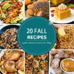 20 recetas de otoño