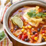 Sopa De Taco De Pollo