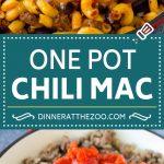 Receta Mac One Pot Chili    Pasta de olla    Chili Mac #dinner #beef #pasta #macaroni #beans #fromage #Cazuelas online#onepot